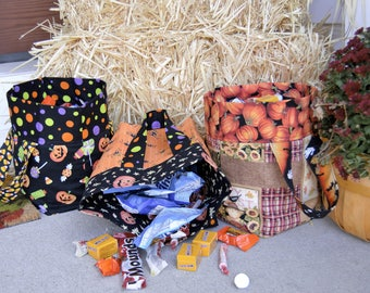 Halloween Trick or Treat Sacks, Goody Bags, Candy Bags