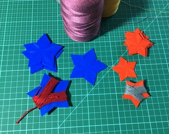Thread Winders Starfish Set of 12 3D Printed Embroidery Tapestry Crewel Needlepoint