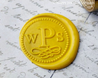 1pcs Custom Wax Seal Stamp Initial Alphabet Sealing Wax Stamp,Personalized Monogram Calligraphy Wedding Invitation Letter Metal Stamp(WS254)