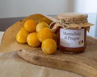 Handmade Extra Jam with organic Plums