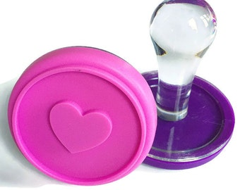 Unique Kid Gifts - Dough Stamper - Kid Gifts - heart