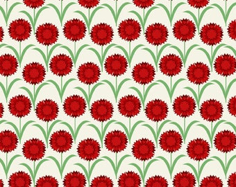 Deco State Flower OHIO - In the Beginning Fabrics - By the Yard