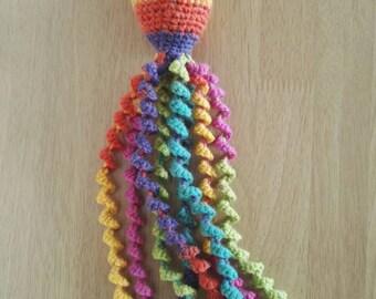 Rainbow Preemie Octopus