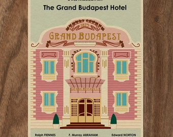 The GRAND BUDAPEST HOTEL Limited Edition Wes Anderson Print