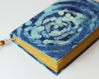 Batik Fabric Journal, diary, notebook, old paper, blank book, old paper, sketchbook