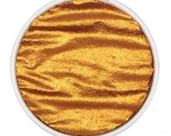 "Inca Gold FINETEC Artist Mica Watercolor Pan Refills Pearl colors 1.2"""