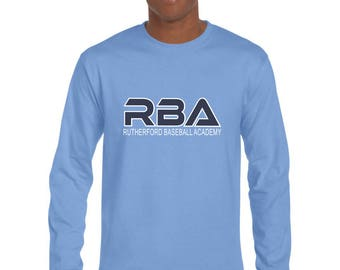 RBA Moisture Wicking Long Sleeve T-Shirt-Front Print Only