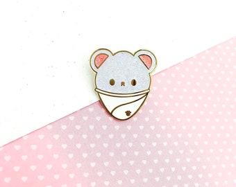 Polar Bear Snow Cone Hard Enamel Pin