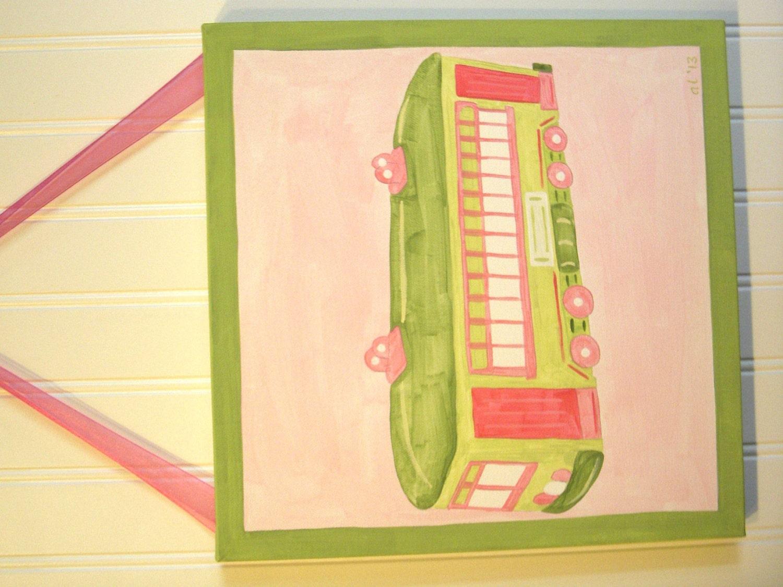Baby shower nursery Children wall art Canvas paintings Kid