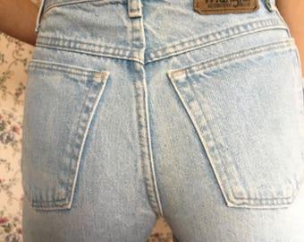 1990s Vintage Wrangler 100% Cotton High Waisted Jean