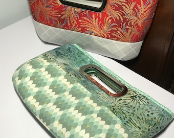 Clutch, Chic Clutch,  Day to Evening bag, clutch  with zipper pocket!