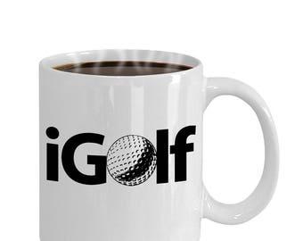 I Golf Gift Mug