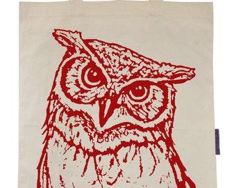 Owl - Eco-Friendly Tote Bag