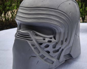 Kylo Ren aluminum cold cast helmet.