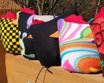 TravelingChickens:  Plush Stuffed Pillows
