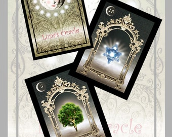 Lunas Oracle Cards