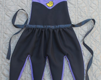 Ursula Inspired Dress Up Apron
