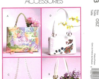 McCall's 4883 Handbags and Totes - PATTERN