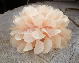 Two Fabric Peony Hair Clip ~1 pieces #100797
