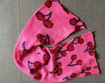 Handgefärbtes Garn, Indie Garn gefärbt, handgefärbtes Garn Kirschen - gefärbt, um Bestellung--handbemalte Sock Blank Merino / Nylon Doppel gestrandet