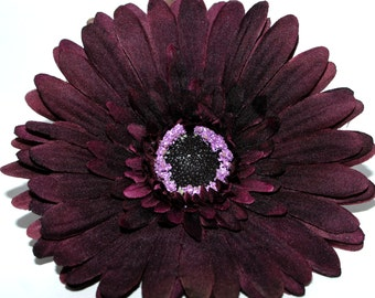 Plum Artistry Daisy - Artificial Flowers, Silk Flower Heads - PRE-ORDER