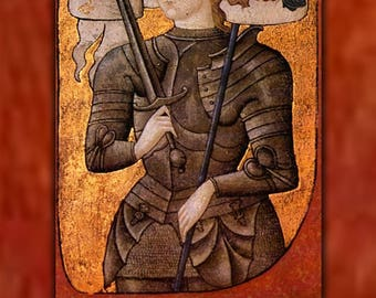 Poster, Many Sizes Available; Joan Of Arc