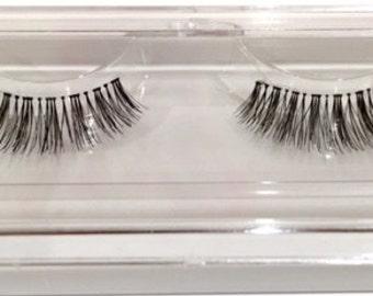 100% Human Hair Eye Lashes - Hand Made [Wsp] - [x10]