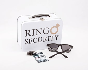 Ring Security ID Badge Set With Sunglasses And Addon Items - Ring security badge template