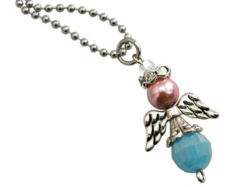 Infant Loss Awareness Mommy of an Angel Necklace