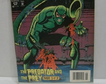 1994 Peter Parker The Spectacular Spider-Man #215 Aug Scorpion  The Predator and The Prey Pt.1  VF-NM Unread Condition  Vintage Marvel Comic