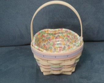 Longaberger Basket 1999 Jelly Bean