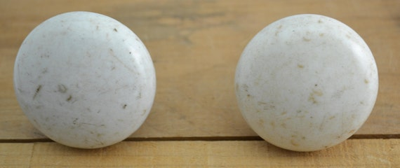 Vintage Speckled Marble Door Knobs   Architectural, Salvage, Handle, Home,  Hardware, Decor