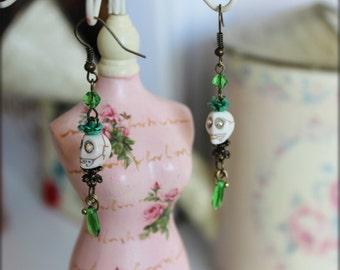 Boucles d'oreilles inspiration  gothique
