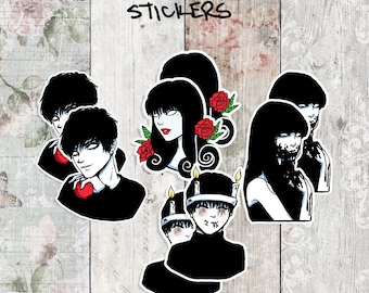 Junji Ito Character Collection Stickers