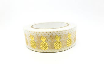 Masking Tape - Foil Tape pineapple (pineapple) 10 m * 15 mm