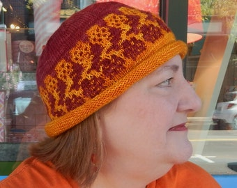 Original pattern - Bold Street mosaic knit hat
