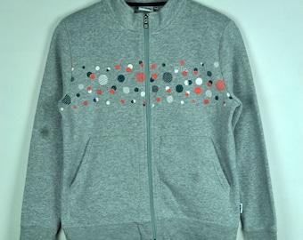 Vintage 90s Fila Zipper Sweatshirt For Ladies  || Fila || M Size||