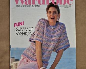 Vintage Annie's Fashion Wardrobe July/August 1988