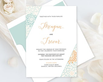 Wedding Invitations - Modern Hip (Style 13784)