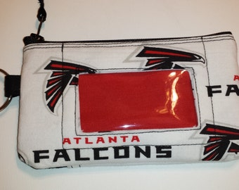 Atlanta Falcons Zip ID pouch