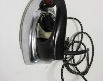 60s Vintage Chrome Westinghouse Iron
