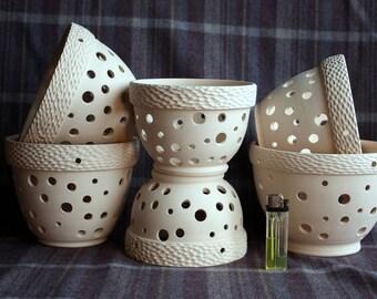 Designer Orchid pot for Orchid planer for Flower vase Ceramic plant pot Orchid pots Clay orchid pot orchid pot Gift for mother Orchid bowl