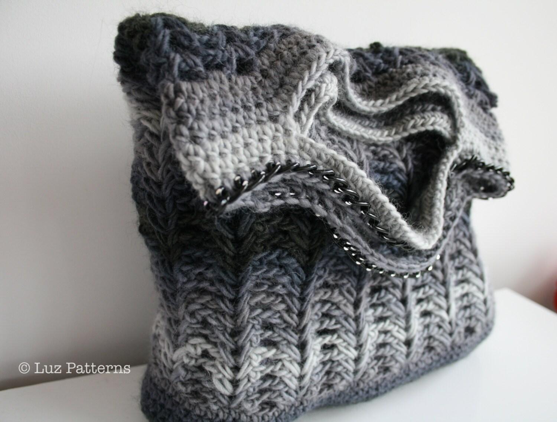 Crochet patterns crochet bag pattern crochet shopper bag