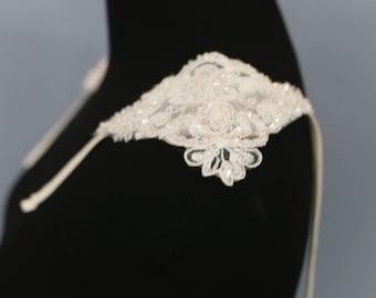 Detachable Cap Sleeves, Detachable Lace Bridal Straps, Removable Wedding Dress Straps, Detachable Bridal Sleeve