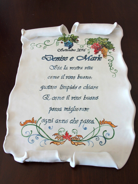 Parchment italian pottery italian ceramics italian wedding gifts parchment italian pottery italian ceramics italian wedding gifts custom ceramic parchments wedding gifts italian ceramic tile parchment dailygadgetfo Images
