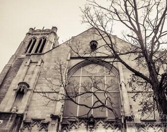 Church on Monument Aveune in Richmond Virginia, St. John's Church Photo Art, Framed Photography Option