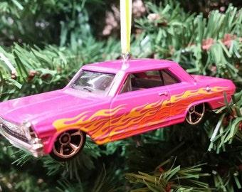 Miniature 1963 Chevy II Deuce Christmas Ornament 1:64 Free Shipping Happy Holidays!!