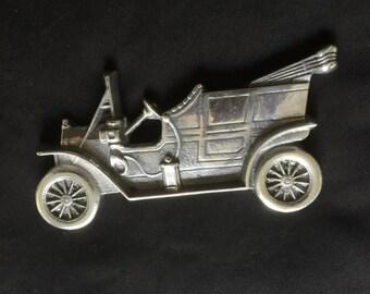Vintage Car Wall Plaque/Desk Ornament/Paper Weight.
