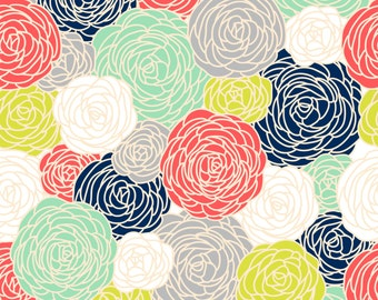 Blossom Print Fabric By The Yard