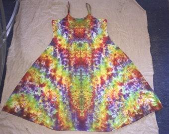 6155 XL Rayon Long Ribbon Strap Dress